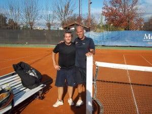 Ferlaino -a la izquierda- venció en 3 sets