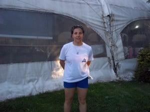 Alejandra Reyes, coordinadora de la colonia