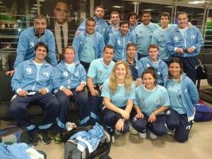La delegación argentina en Francia