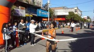 Fernando Salguero ganador de los 10 km