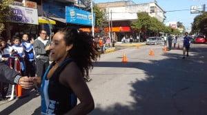 Cintia Coronel ganadora 10 km damas