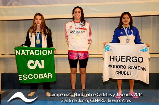 Tayra Klaremberg: Subcampeona nacional en 200 metros combinado y mariposa