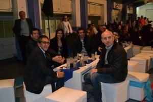 Sandro Guzmán, Elio Miranda , Luciano Drovetto presentes en el aniversario de Sportivo