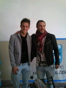 Franco junto  a su hermano Bruno