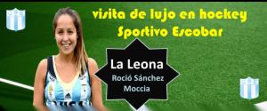 Leona en Escobar