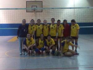 Equipo femenino  de Boca del Tigre en UNILIVO