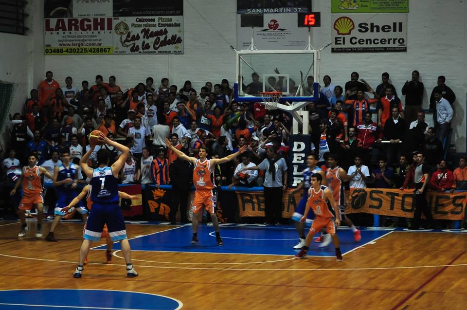 SPORTIVO ESCOBAR, ganó en el debut mostrando un muy buen básquet