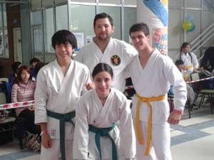 El karate Dojo sigue creciendo en Escobar