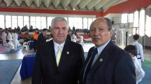 Maestro Jorge Rogers junto a Eduardo Gonzalez en el Torneo Amistad en Escobar