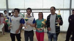 "Obelar, Nieves, Minaglia y Obelar ganadores CAT ""B"""