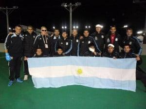Los Murcielagos en Japón junto a la delegación Argentina