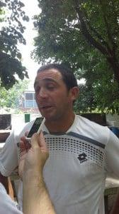 Diego Bianchini profesor de fútbol CAIDE