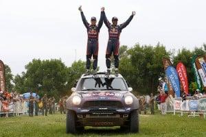 Nasser Al Attiyah ganador en autos