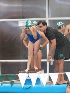 Nadadora promocional recibe indicación de Spen