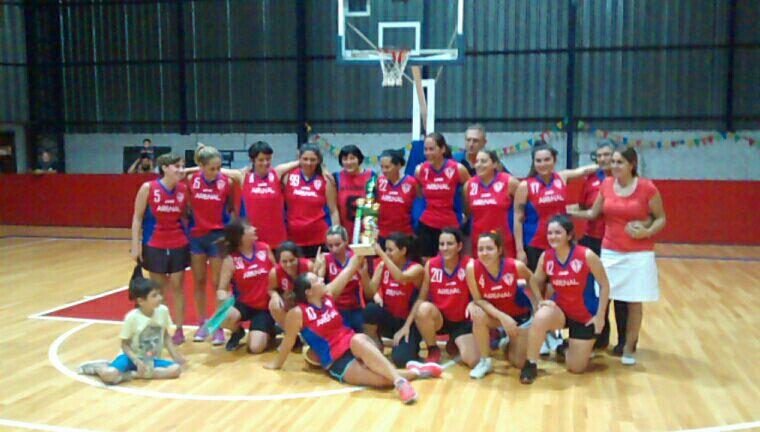 Arenal: debut y podio para las mujeres