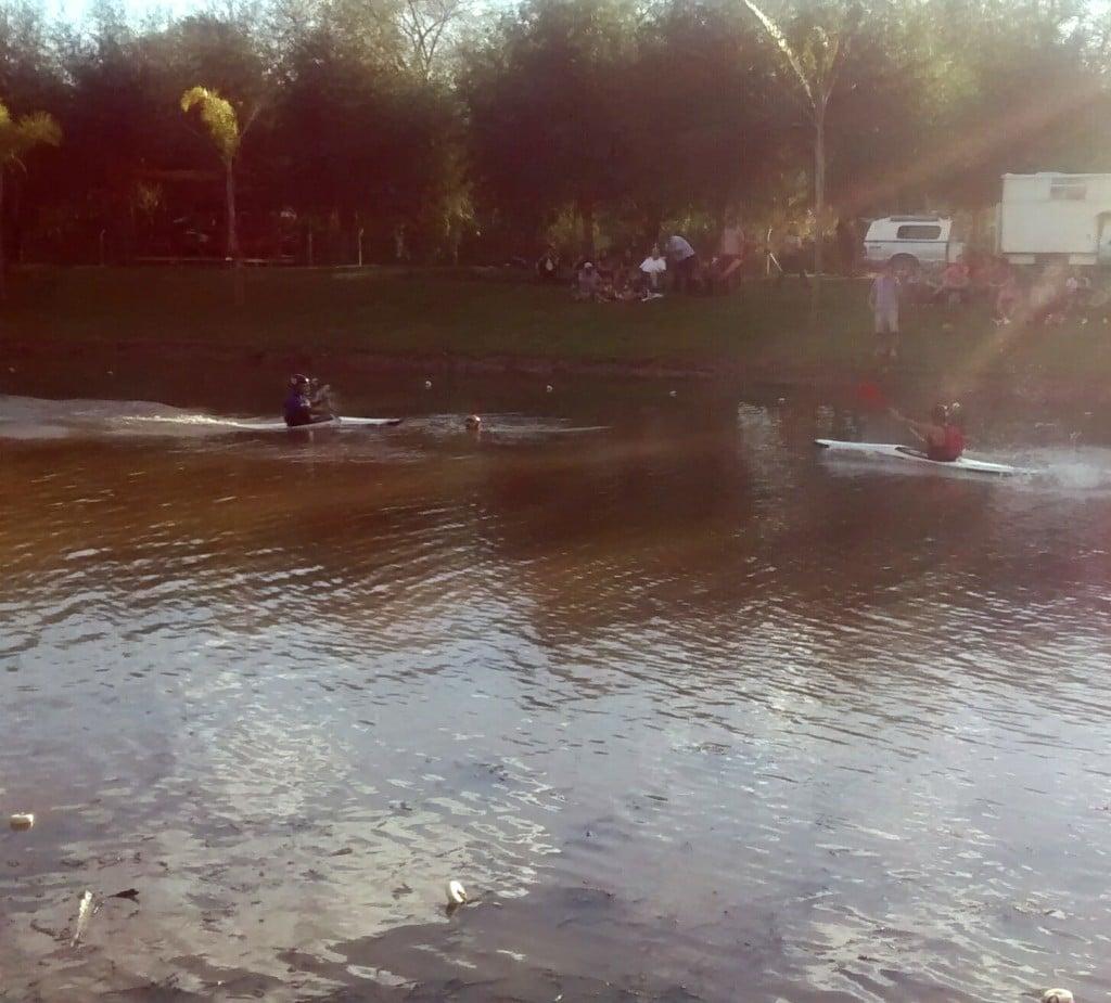 El Kayak Polo sigue creciendo en Escobar