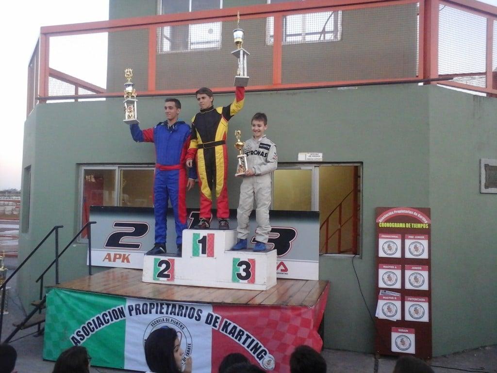 KARTING: Lucas Monroy ganador absoluto en la 3ra fecha de Kart Plus en Zarate