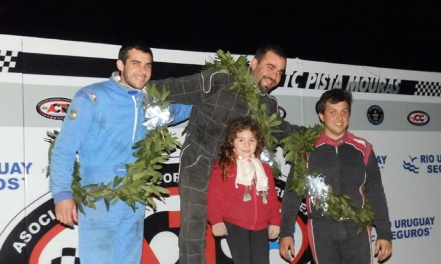 Marziano, Fagnani y Cordani a los podios