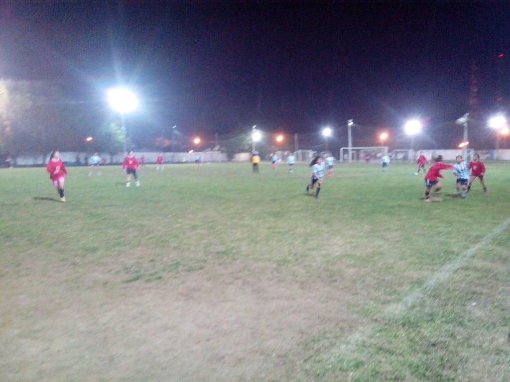 Las Sportivas afrontaron un duro pero productivo partido
