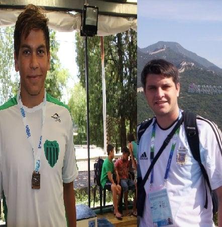 Dos escobarenses presentes en los Parapanamericanos