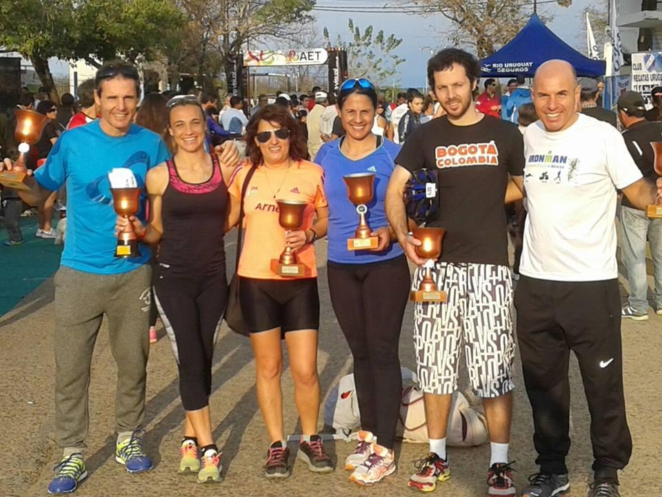 Atletas locales, participaron  del Duathlón de Concepción del Uruguay.