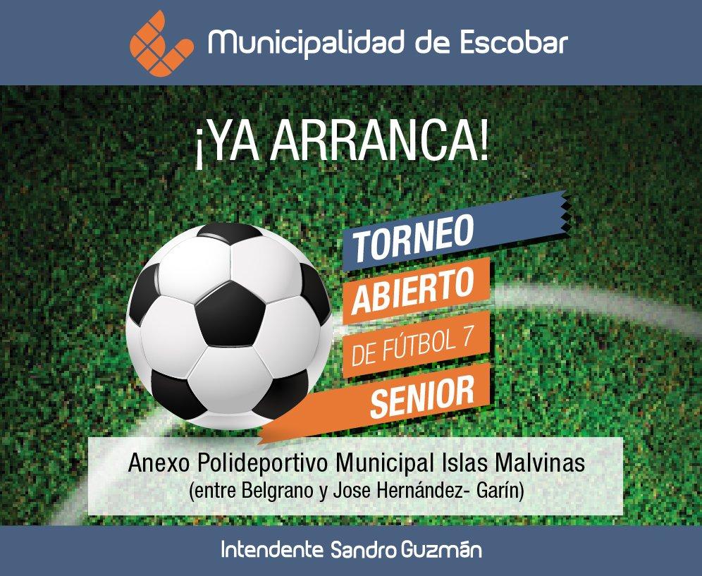 Se viene un torneo de fútbol 7 senior en Garín