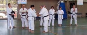 Edgardo Marceletti, un apasionado por el Karate