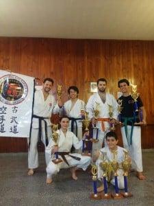 Crece el karate en Escobar