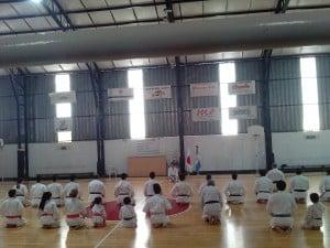 El Karate Shotokan vivió una gran jornada en Arenal