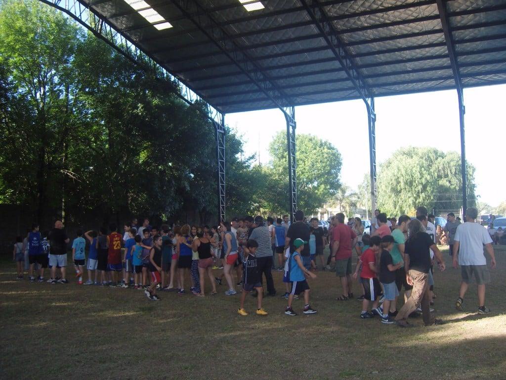 El Basquet de Sportivo cerró el año en familia