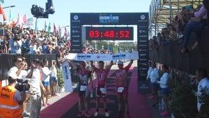 Sam Appleton, de Australia  ganó el   IRONMAN 70.3  Buenos Aires