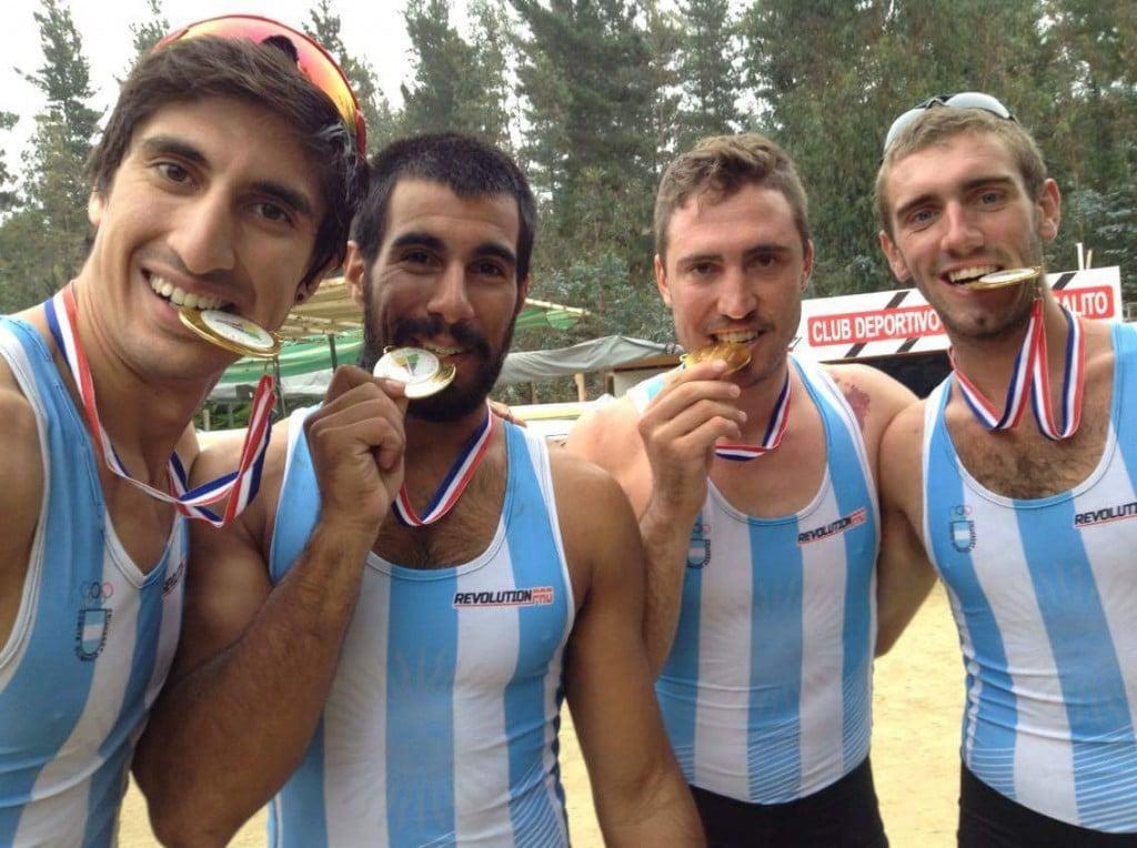 Esteras logró dos oros contundentes en el Sudamericano