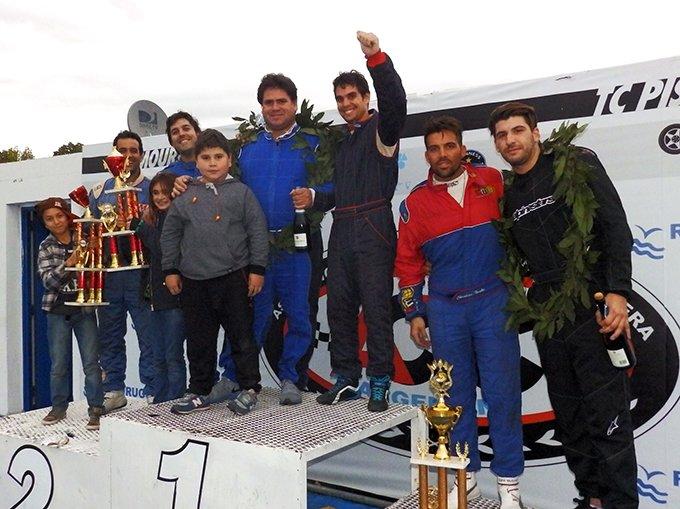 Podio Clase 2 Gran Premio - La Plata