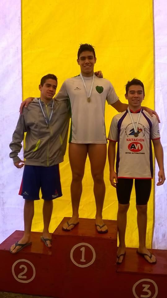 La natación de Independiente dijo presente en San Nicolás