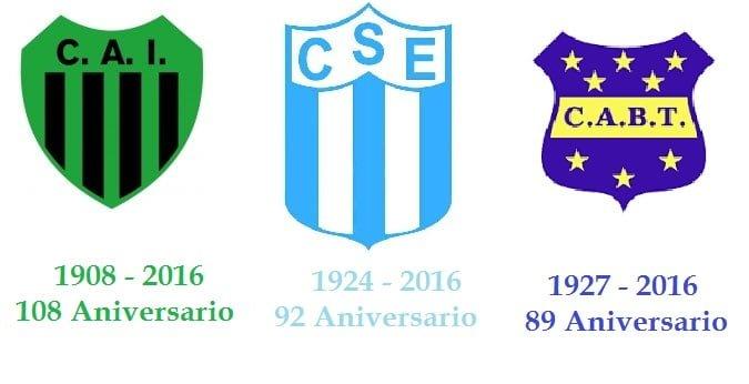 Aniversario, de los tres clubes que iniciaron la historia del deporte en Escobar