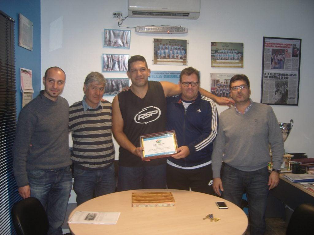 El ascenso de Sportivo fue reconocido por la Municipalidad
