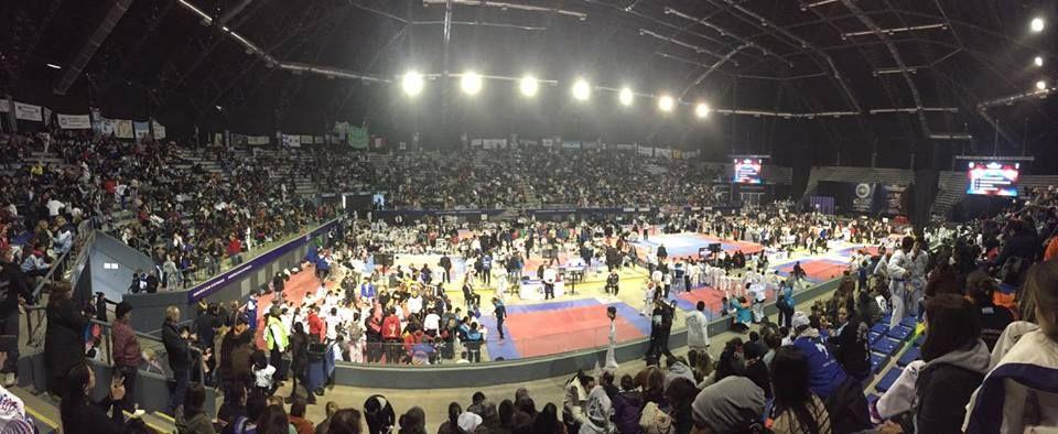 Zona Norte: gran cantidad de medallas en el Panamericano de Taekwondo