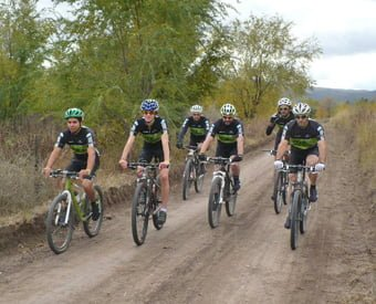 El Mountain Bike local sigue en plena competición