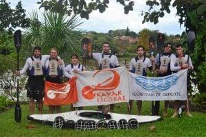 El Kayak Polo de Escobar sumo experiencia y aprendizaje en el torneo en Brasil