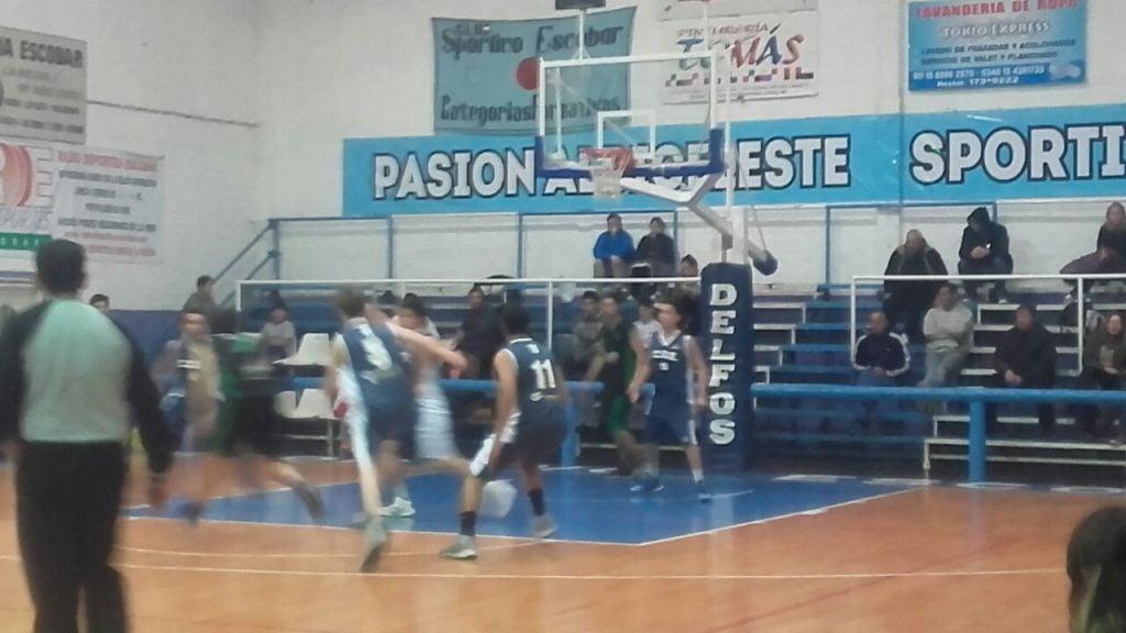 Sportivo B se quedó con el clásico del basquet local
