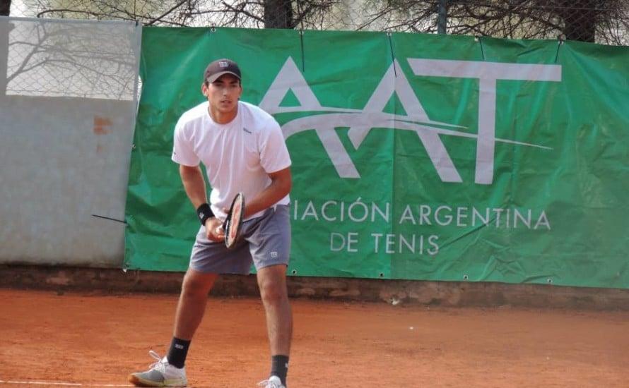 Juan Ignacio Galarza prueba suerte en los torneos ATP
