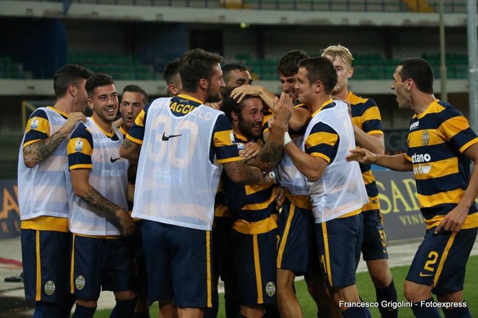 Franco Zuculini marcó un gol decisivo para Hellas Verona