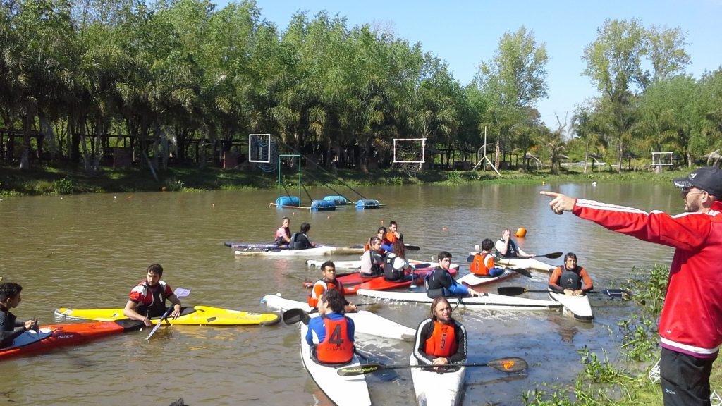 Escobar,  fue sede del selectivo para el Sudamericano de Kayak Polo