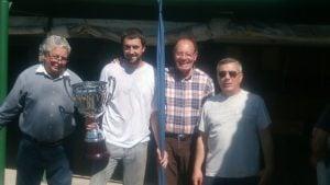 Lucas Vaira,  ganó el concurso de caña hasta 2.50 con tabla del C.P.E.