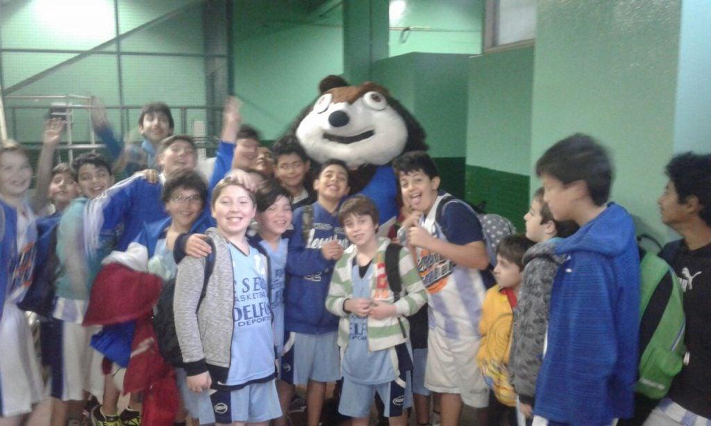 La Escuela de Básquet de Sportivo Escobar, participó de un encuentro en Ferro