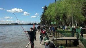 El club de Pescadores, festejó el día del niño con gran convocatoria