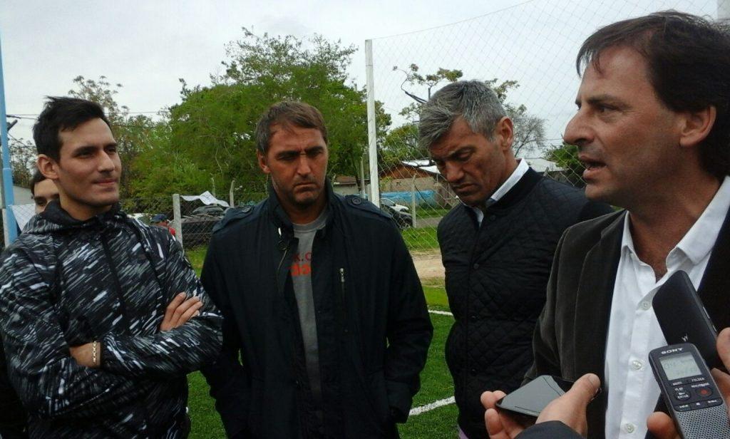 Las voces de la inauguración del Polideportivo de Matheu