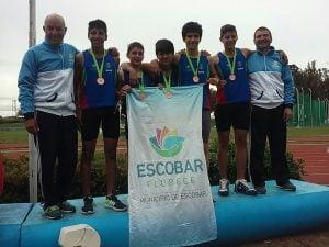 Escobar cosechó, en la tercera  jornada, 10 medallas entre oro, plata y bronce