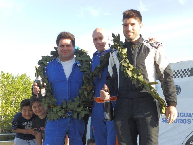 Marignac - Di Santo - Cordani Podio Clase 2 en La Plata