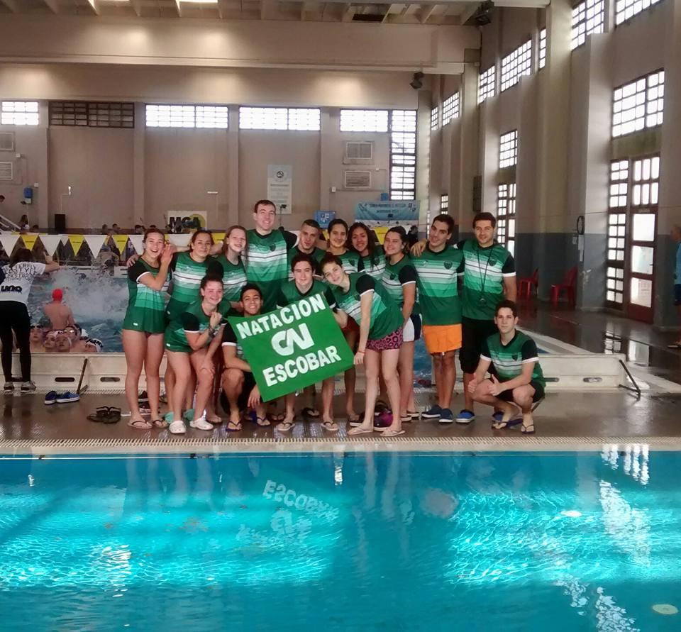 La natación de Independiente dijo presente en San Pedro